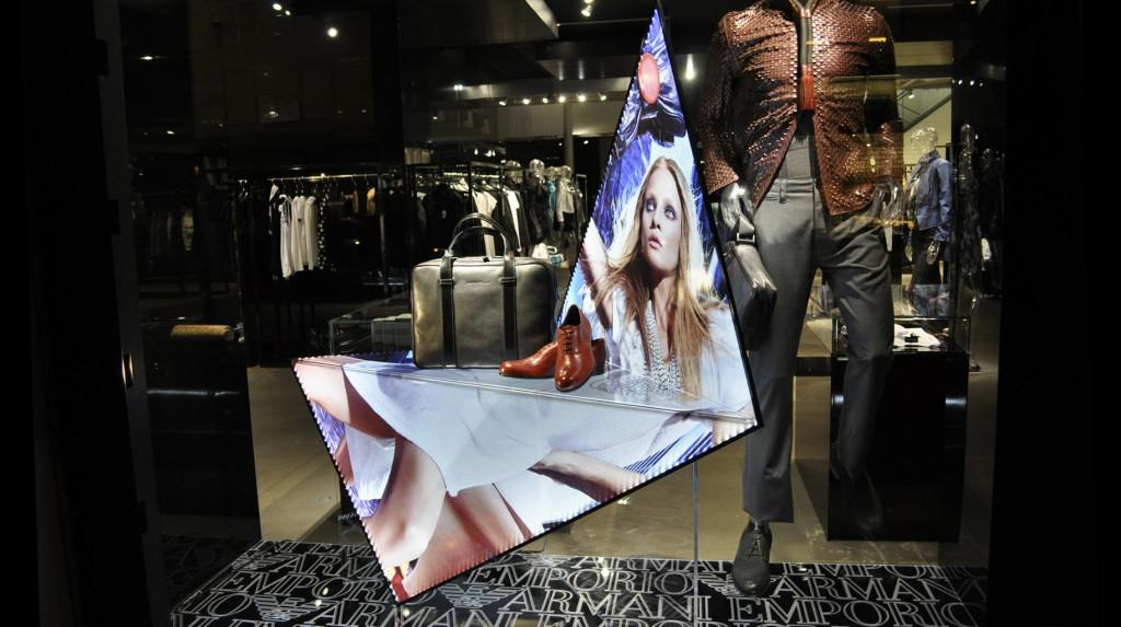 Flatshine Display
