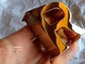 Piccole e preziose lettere scatolate in ottone