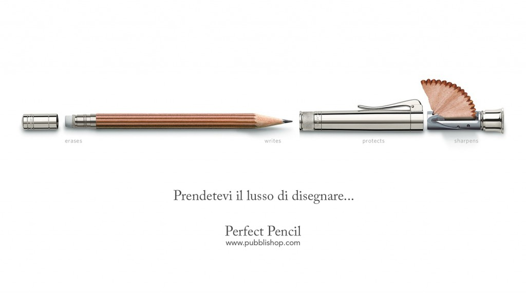 faber castell Matita Perfetta - Perfect Pencil