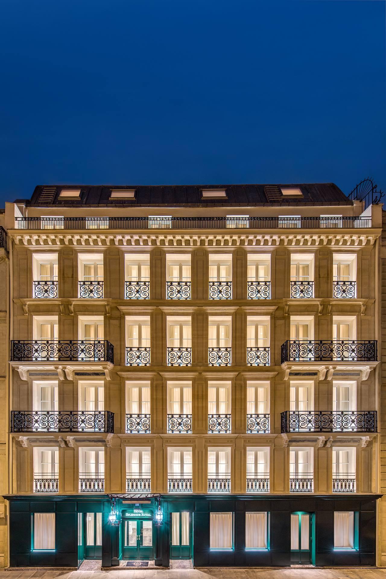 Hotel Splendide Royal insegna3 Parigi