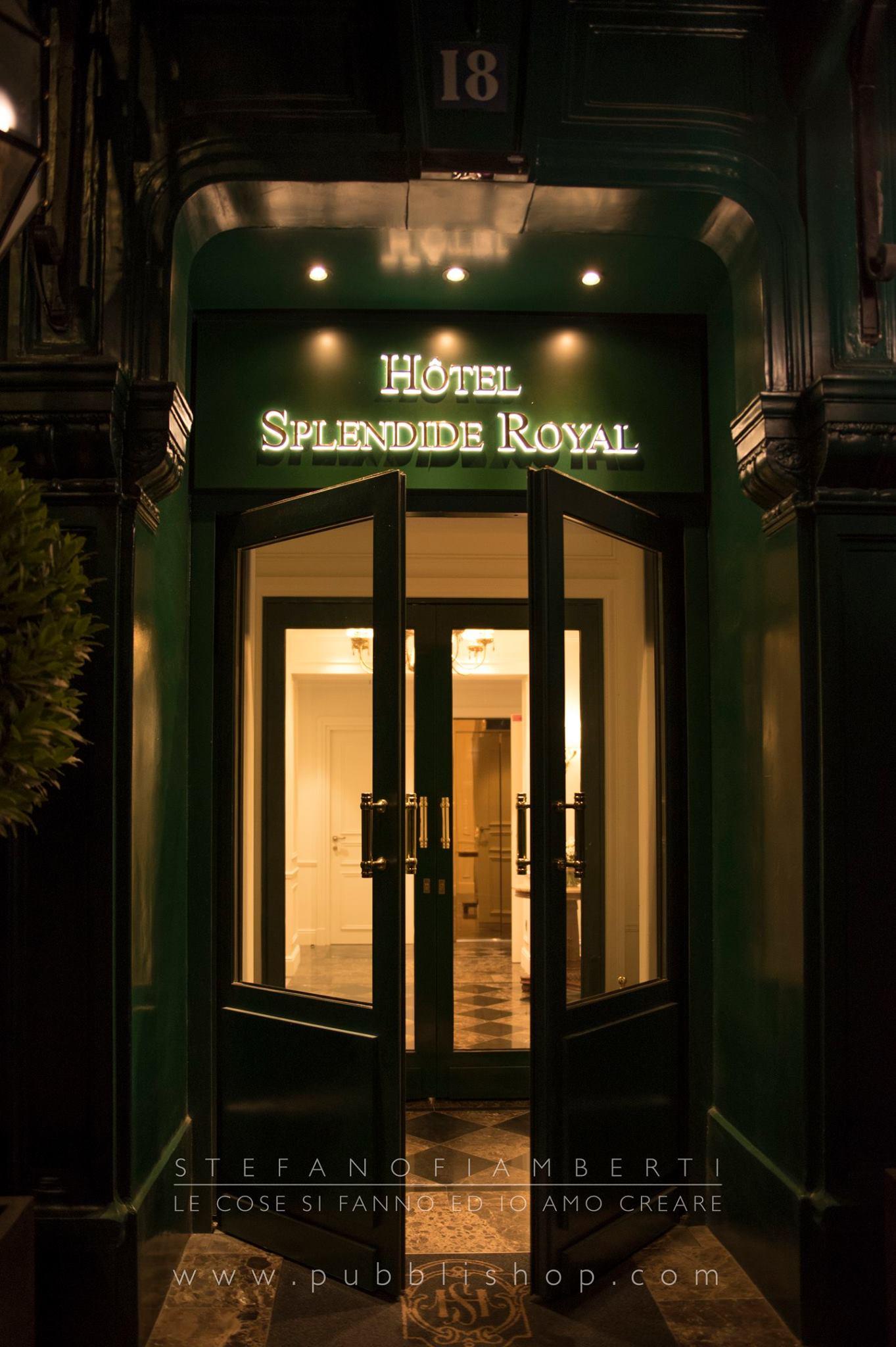 Hotel Splendide Royal insegna2 Parigi