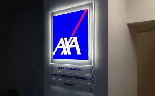 Flatshine Signal per Axa Assicurazioni